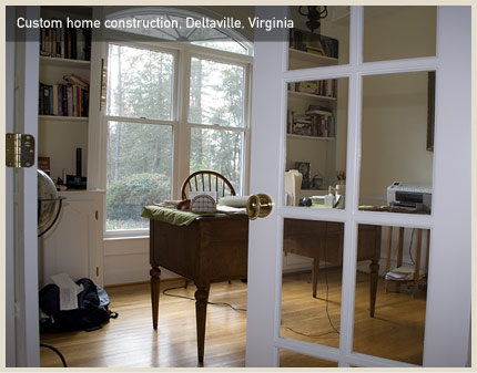 Custom home construction, Deltaville, VA