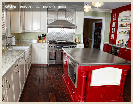 Kitchen remodel, Richmond, VA