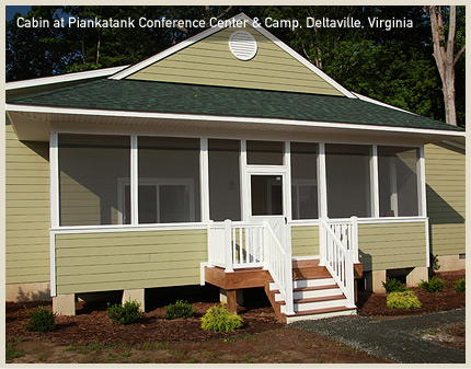 Cabin at Piankatank Conference Center and Camp, Deltaville, VA